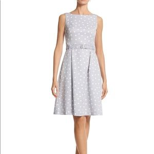 WHBM Sleeveless Polka Dot Print Sundress